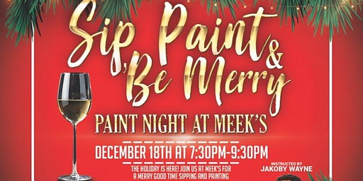 Sip, Paint & Be Merry
