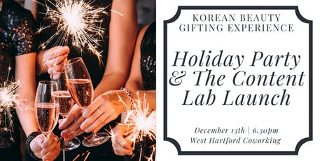 3rd Annual Holiday Party and The Content Lab Launch tickets