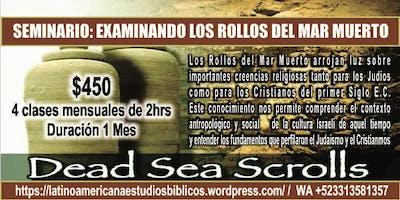 Seminario Web: Los Manuscritos del Mar Muerto
