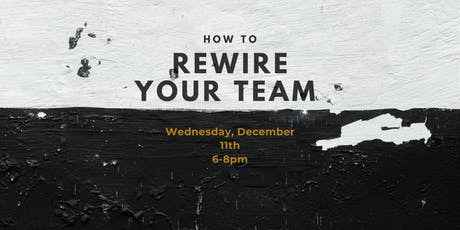 Lead by Example: How to Rewire your Team Dynamics tickets