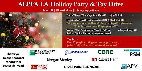 ALPFA LA Holiday Party & Toy Drive tickets