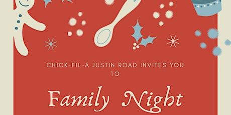 Family Holiday Night tickets