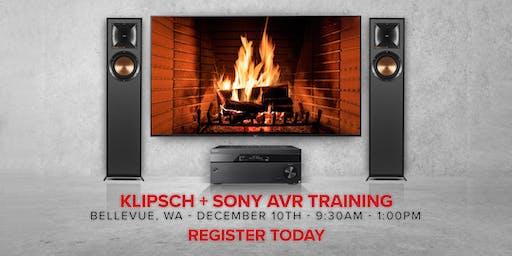 Klipsch + Sony AVR Training - Bellevue
