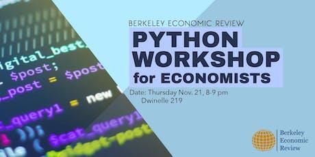 Python Workshop For Economists tickets