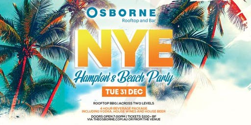 New Year's Eve @ The Osborne Rooftop and Bar