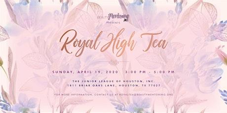 BEAUTY Mentoring's Royal High Tea tickets