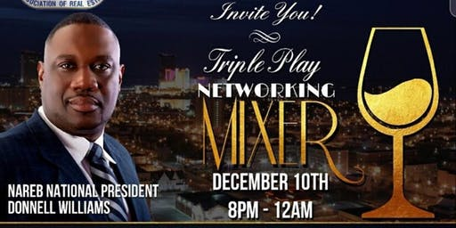 Triple Play Networking Mixer