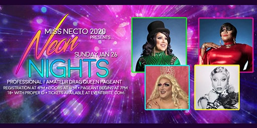 Miss Necto 2020 : Pro/Am Drag Queen Pageant