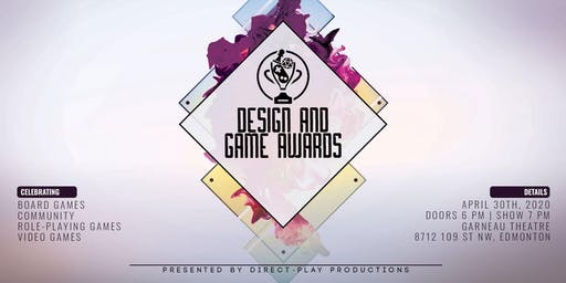 Design and Game Awards 2020