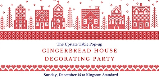 Gingerbread House Party at Kingston Standard Brewing Co