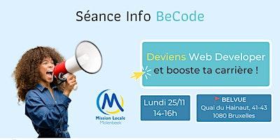 Séance Info & Atelier d'initiation au codage