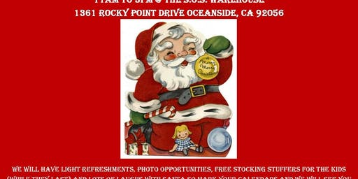 3rd Annual Meet N Greet With Santa