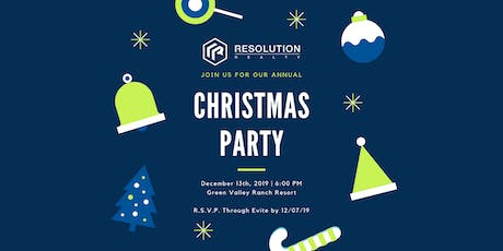 Resolution Realty Annual Holiday Party tickets
