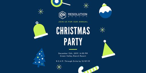 Resolution Realty Annual Holiday Party