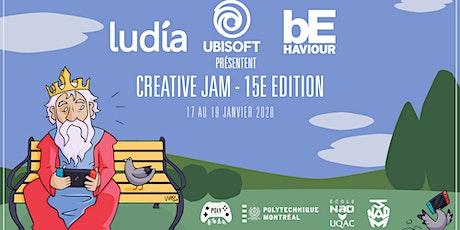 Complet - Creative Jam - 15e édition billets