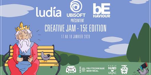 Creative Jam - 15e édition