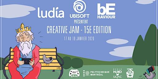 Complet - Creative Jam - 15e édition