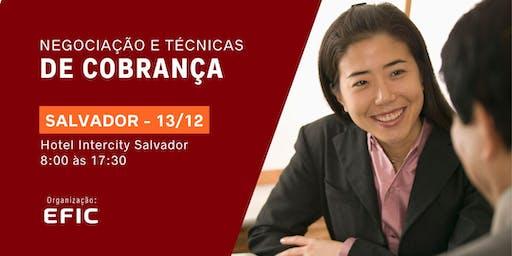Negociação e Técnicas de Cobrança em Salvador