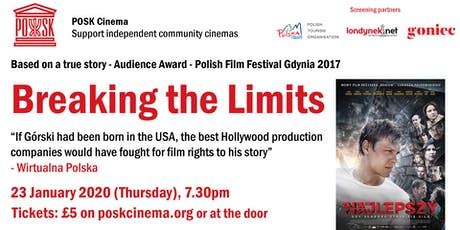 POSK Cinema #8: Najlepszy / Breaking the Limits tickets