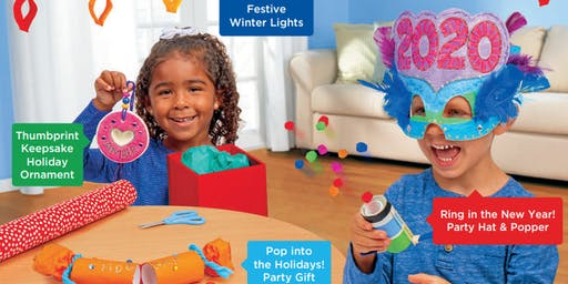 Lakeshore's Free Crafts for Kids Celebrate the Season Saturdays in December (Upland)