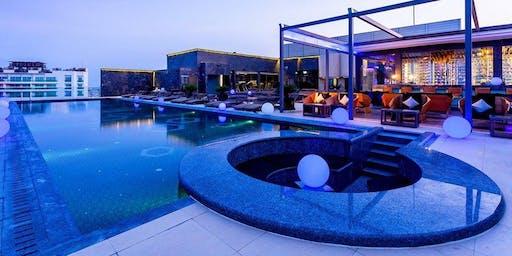 Yves baron live at Ruffino Roof top  Centara Phratamnak Pattaya