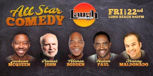 Alonzo Bodden, Ruben Paul, and more - All-Star Comedy