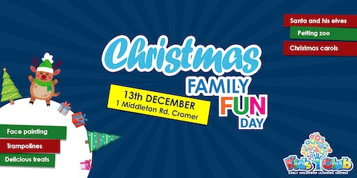 Christmas Family Fun Day @ Kids Club Northern Beaches!