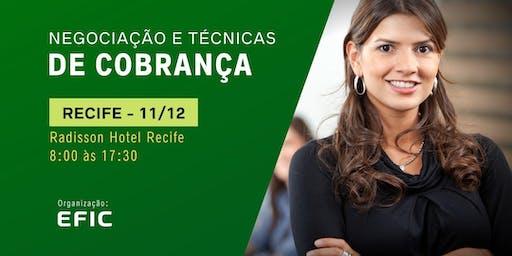 Negociação e Técnicas de Cobrança em Recife