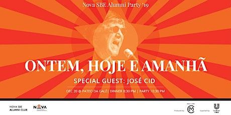 Nova SBE Alumni Party '19 bilhetes