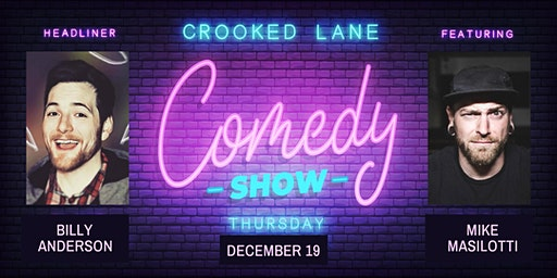 Crooked Lane Comedy Night