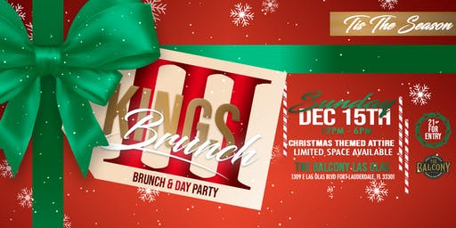 3Kings Brunch & Day Party: Christmas Edition
