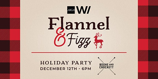 AIGA WI Flannel & Fizz Holiday Party