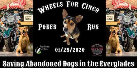 Wheels 4 Cinco Poker Run entradas