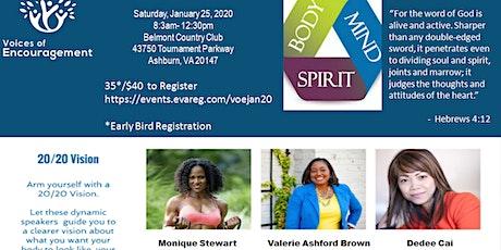 Body, Mind, & Spirit tickets
