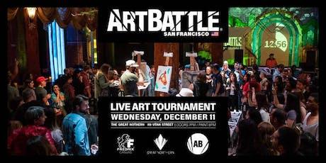 Art Battle San Francisco - December 11, 2019 tickets