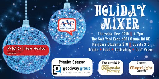 Holiday Mixer with AAFNM and NMAMA