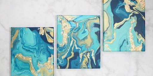 Paint Pour Canvas