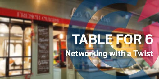 SA | Table for 6 Networking Dinner @ Les Deux Coqs - Wednesday 19 February 2020