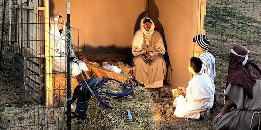 """From Christmas to the Cross"" Live Walk-Through Nativity"