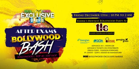 AFTER EXAMS Bollywood Bash tickets