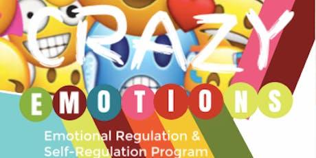 CRAZY EMOTIONS Programme pour la Régulation  Émotionnelle des Enfants tickets