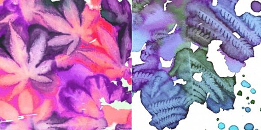 School Holiday Watercolour Botanical Printing