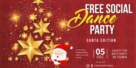 FREE SOCIAL DANCE PARTY-SANTA EDITION tickets