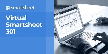 Smartsheet 301 - Advanced Work Management - December 10th-11th tickets