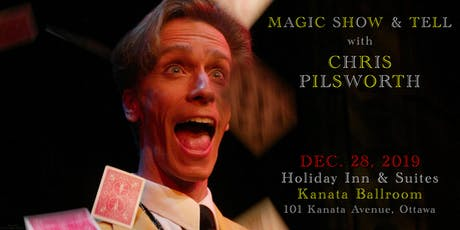 Magic Show & Tell with Chris Pilsworth tickets