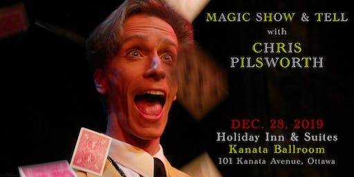 Magic Show & Tell with Chris Pilsworth