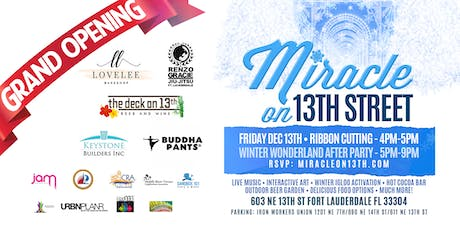 Miracle on 13th Street - Grand Opening!!! tickets