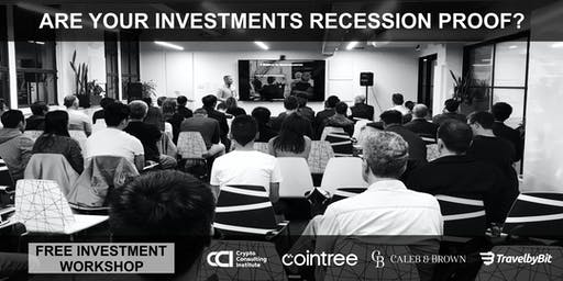 Are Your Investments Recession Proof? Learn To SAFELY Diversify Into Cryptocurrency