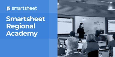 Smartsheet Regional Academy - Dallas - January 29th-30th tickets