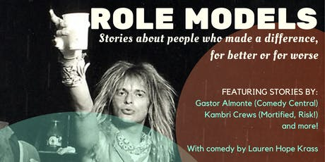 Role Models: A Storytelling Show tickets